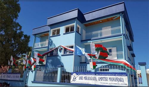 La cnaps se dote de logements sociaux et de bureaux lakroan 39 i madagasikara on line les for Caisse nationale de logement