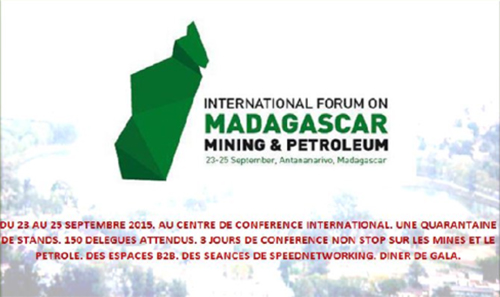 Salon International des Mines et du Pétrole au CCI Ivato